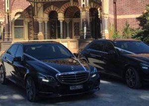 Chauffeur Melbourne wedding cars