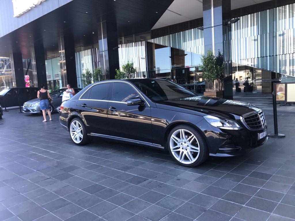 Mercedes Chauffeur Cars Melbourne
