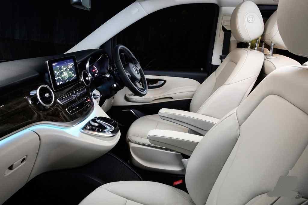Luxury Mercedes driven V class van Melbourne
