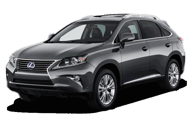 chauffeur driven cars Lexus Luxury SUV