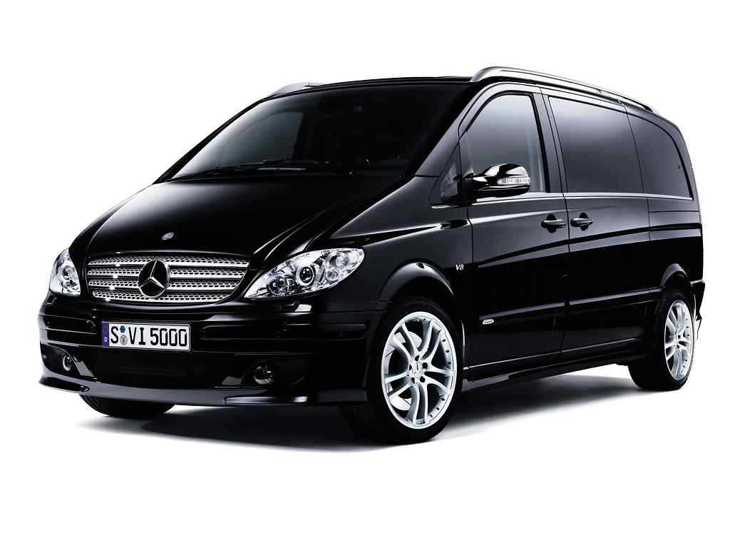 chauffeur driven cars mercedes van viano